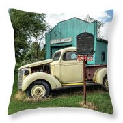 Radiator Shop Throw Pillow