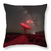 Radio Waves  Throw Pillow by Michael Ver Sprill