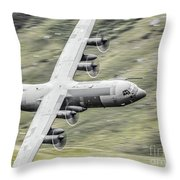 Raf C-130 Hercules 1 Throw Pillow