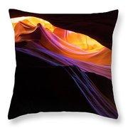 Rainbow Canyon Throw Pillow