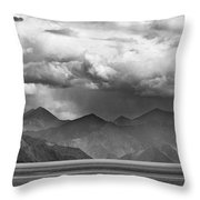 Rains In China Throw Pillow by Whitney Goodey