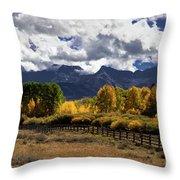 Ralph Lauren Ranch Throw Pillow