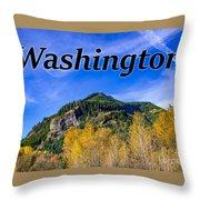 Randle Washington In Fall Throw Pillow
