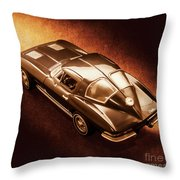 Ray Tail Throw Pillow