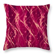 Red Berry Twist Throw Pillow