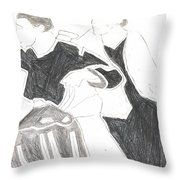 Red Detachment Of Women D1 Throw Pillow
