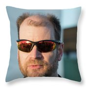 Reflecting On A Mission Throw Pillow