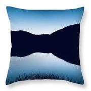 Reflections Of Cornwall Throw Pillow by Mark Taylor