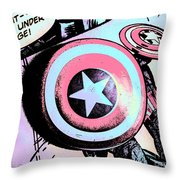 Repeat - - We Are Under Siege Throw Pillow