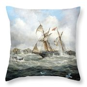 Rescue At Last Throw Pillow