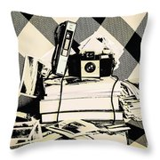 Research And Development Throw Pillow