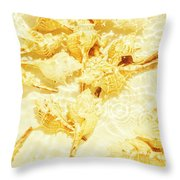 Resort Ripples Throw Pillow