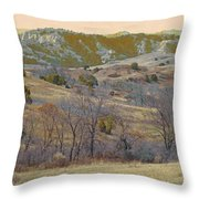 Reverie Of Dakota West Throw Pillow