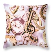 Revolting Justice Throw Pillow