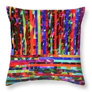 Rhythm And Rules Throw Pillow