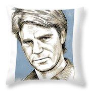 Richard Dean Anderson Color Throw Pillow
