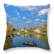 Richmond Upon Thames - Panorama Throw Pillow