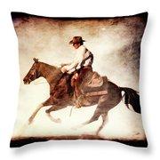Riding The Light Throw Pillow