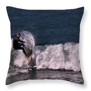Right Turn Throw Pillow