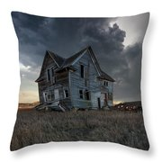 Right Where It Belongs Throw Pillow