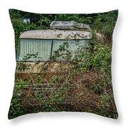 Rip Van Winkle's Rv Throw Pillow