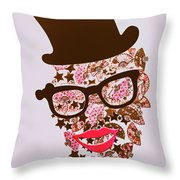 Risby Ringmaster Throw Pillow