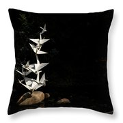 Rise Up And Fly Throw Pillow