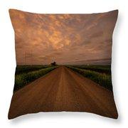 Road To Huron  Throw Pillow