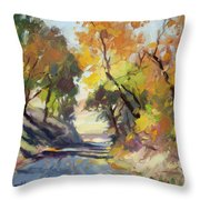 Roadside Attraction Throw Pillow