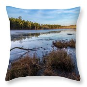 Roberts Branch Pine Lands Throw Pillow