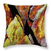 Rock Art 17 Throw Pillow