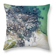 Rock Clusters Throw Pillow