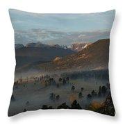 Rocky Mountain National Park - 2246-2 Throw Pillow