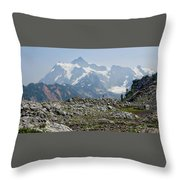 Rocky View Throw Pillow