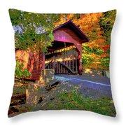 Roddy Road Bridge Throw Pillow