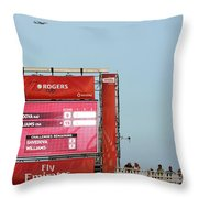 Rogers Cup Toronto Throw Pillow
