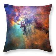 Roiling Heart Of Vast Stellar Nursery Throw Pillow