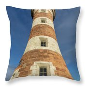 Roker Lighthouse 1 Throw Pillow