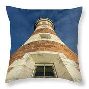 Roker Lighthouse 2 Throw Pillow