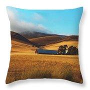 Rolling Hills Of California Throw Pillow