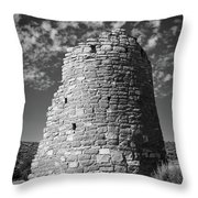 Round Tower Throw Pillow