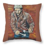 Roy Ayers Throw Pillow