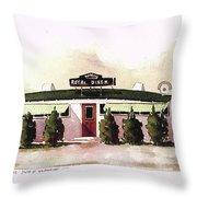 Royal Diner Throw Pillow