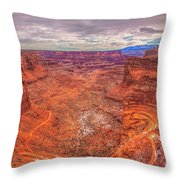 Rugged Trails Throw Pillow