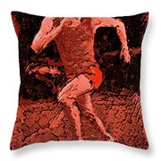 Runner 2 Throw Pillow
