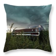 Rust In The Wind  Throw Pillow
