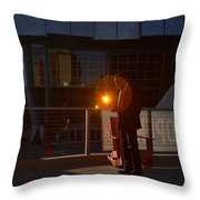 Sacramento Light Throw Pillow
