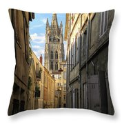 Saint Andre Cathedral Throw Pillow