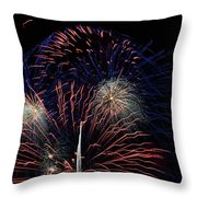 Saint Louis Missouri 4th July 2018 Throw Pillow