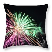 Saint Louis Riverfront 4th Of July 2018 Throw Pillow